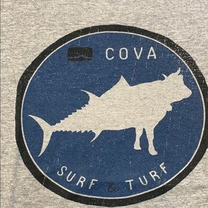 Men's Cova Surf and Turf T. Like new.